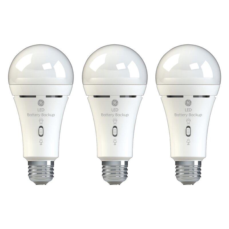 450 Lumens 1 Pack Long Life Dimmable 5000K Daylight 7 Watt GE Lighting A19 LED Light Bulb 40W Equivalent 120V
