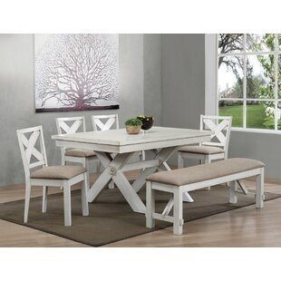 Hogue Bright Dining Table by August Grove