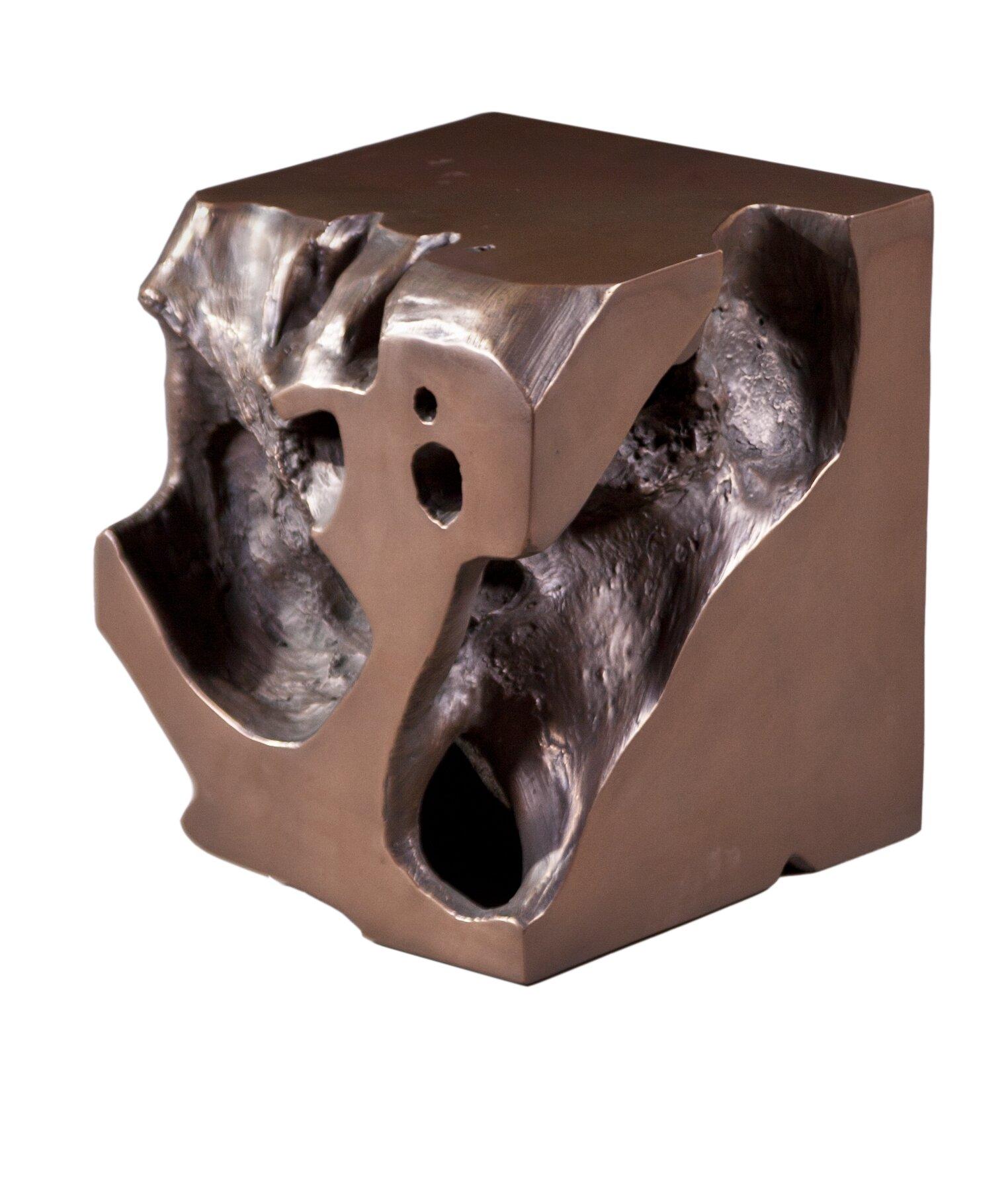 Phillips Collection Freeform Plastic Accent Stool Wayfair