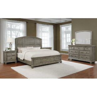 Bunceton Panel 5 Piece Bedroom Set