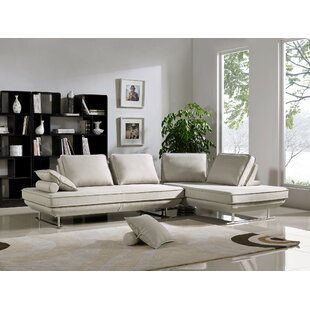 Orren Ellis Wyckhoff Convertible Sleeper Sectional