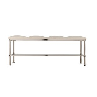 Annika Metal Storage Bench by Orren Ellis
