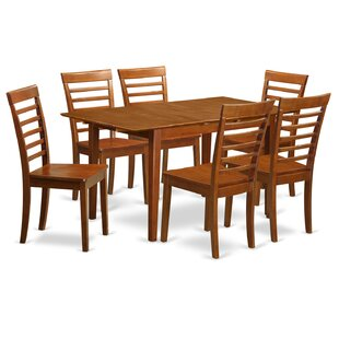 Picasso 7 Piece Extendable Dining Set