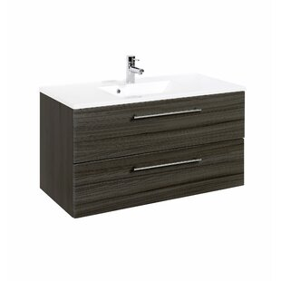 Eila 1000mm Wall Hung Vanity Unit By Mercury Row
