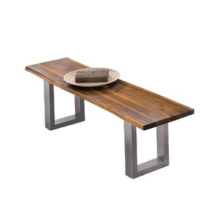Solid Wood Bench By Union Rustic