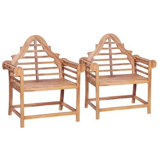 Garden Chair (Set Of 2) By Sol 72 Outdoor