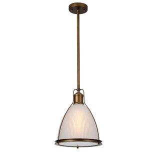 Breakwater Bay Elissa 1-Light Bell Pendant