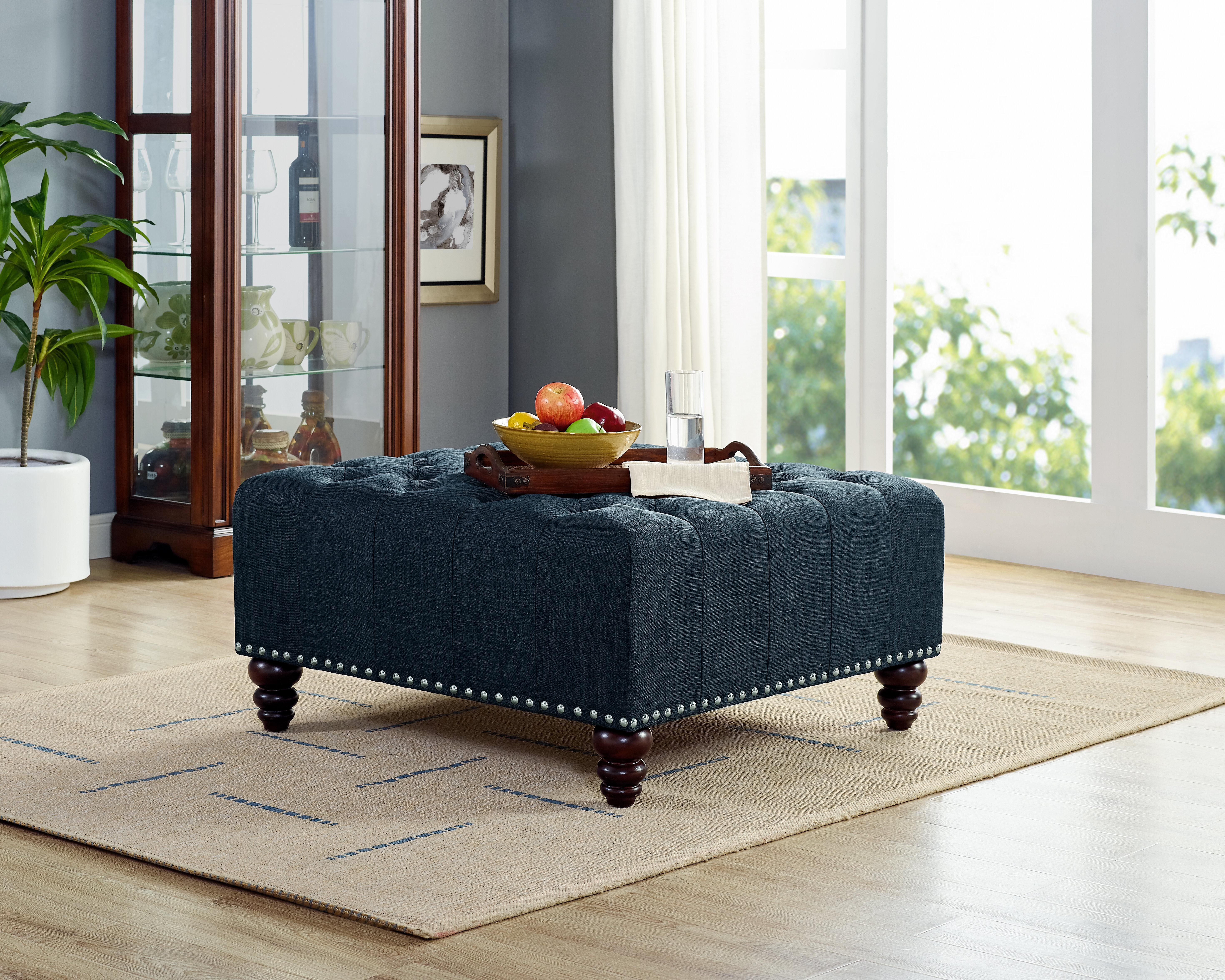 Fabulous Camarena Tufted Cocktail Ottoman Ibusinesslaw Wood Chair Design Ideas Ibusinesslaworg