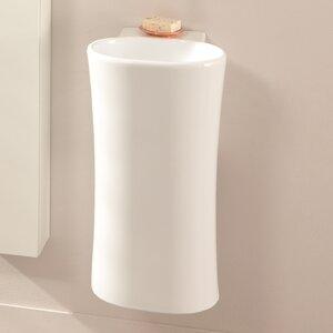Belfry Bathroom 34 cm Waschbecken mit Halbsäule Colona