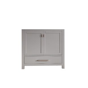 Poyen 36 Single Bathroom Vanity Base by Charlton Home