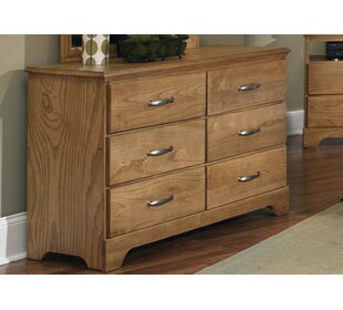 Sterling 6 Drawer Double Dresser