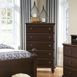 Carolina Furniture Works, Inc. 5 Drawer Chest