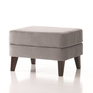 Brodie Ottoman in Grade 3 Vinyl by Studio Q Furniture