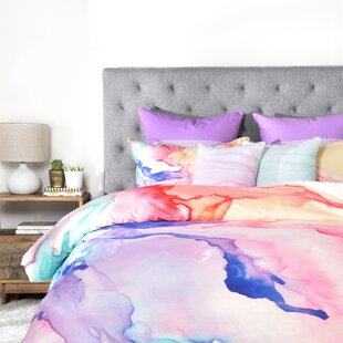 East Urban Home Color My World Duvet Cover Set Image