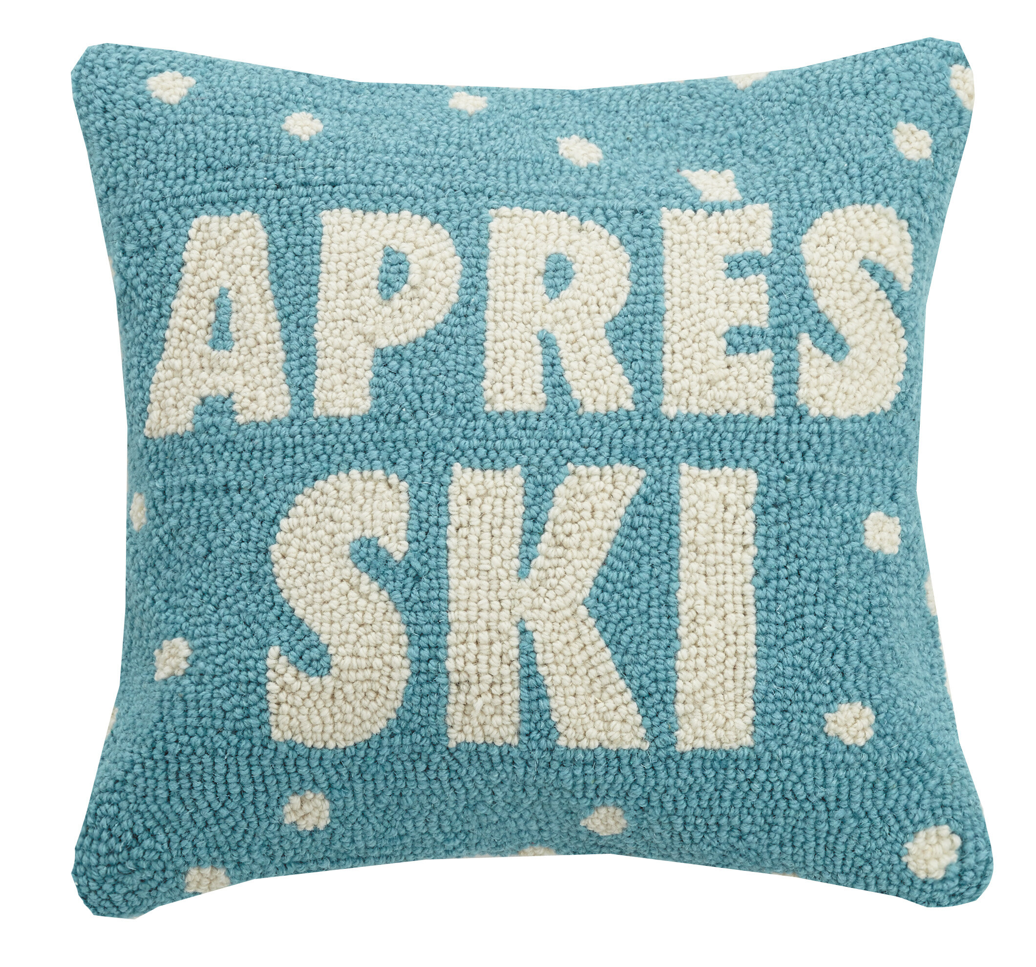 The Holiday Aisle Ira Apres Ski Woolthrow Pillow Wayfair