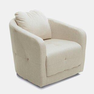Brayden Studio Klassen Swivel Barrel Chair