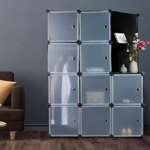 110cm Wide Clothes Storage System By Symple Stuff