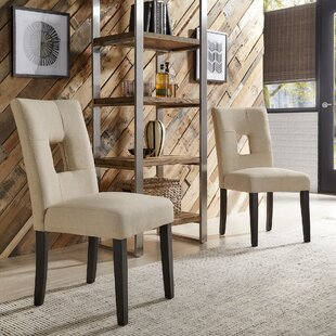 Oakely Upholstered Side Chair (Set of 2) Winston Porter