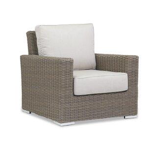 Coronado Patio Chair with Sunbrella Cushion by Sunset West