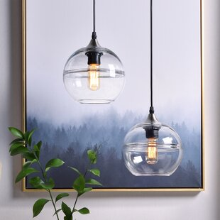 2-Light Globe Pendant by Casamotion
