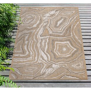 Cisco Agate Sand Indoor/Outdoor Area Rug