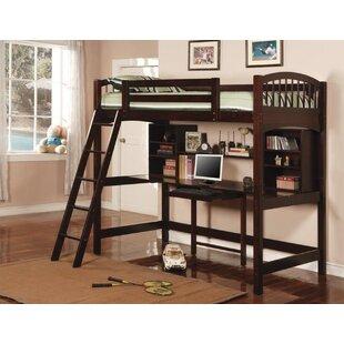 Vogt Jeremaiah Twin Loft Bed by Harriet Bee