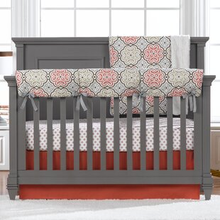 Shopping for Celsus Bumperless 4 Piece Crib Bedding Set By Harriet Bee