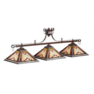Millwood Pines Shemar 3-Light Billiards Light