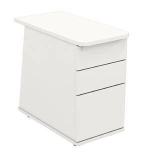 Derryberry 3-Drawer Lockable Filing Cabinet By Mercury Row