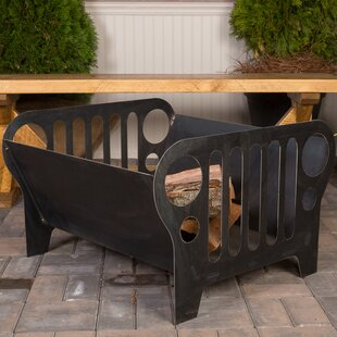 Ember Haus Flaming Jeep Steel Wood Burning Fire Pit