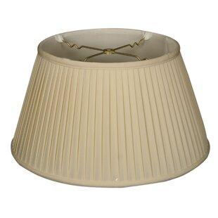 Side Pleat 19 Silk Empire Lamp Shade
