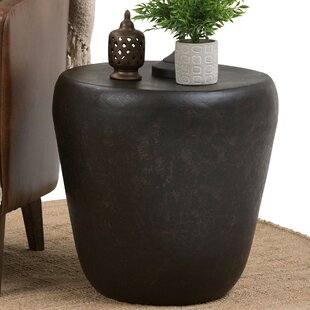 Garvy Metal End Table by Simpli Home