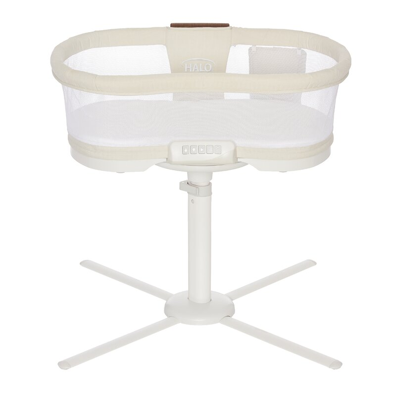 halo innovations inc luxe plus bassinet with bedding reviews wayfair luxe plus bassinet with bedding