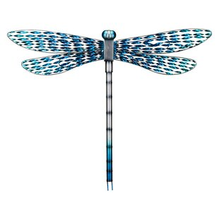 Outdoor Metal Dragonfly Decor Wayfair