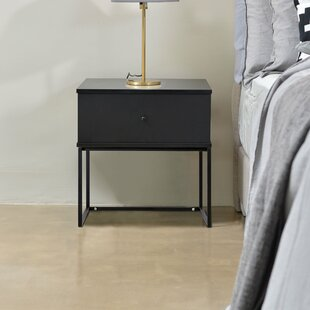 Efrain Bedside 1 Drawer Nightstand by Union Rustic