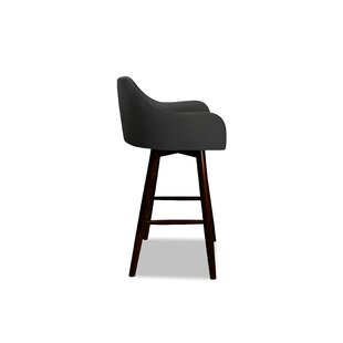 Landreneau 26 Swivel Bar Stool Wrought Studio