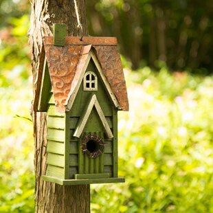Glitzhome 12in x 7in x 5in Birdhouse