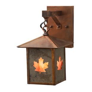 Top Reviews Etheredge Outdoor Wall Lantern By Millwood Pines