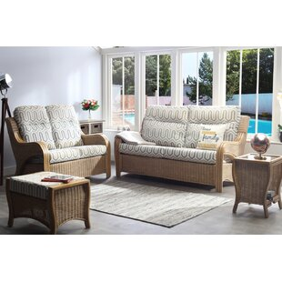 Kara 4 Piece Conservatory Sofa Set By Beachcrest Home
