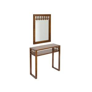 Konsolentisch mit Spiegel von Woodhaven Hill