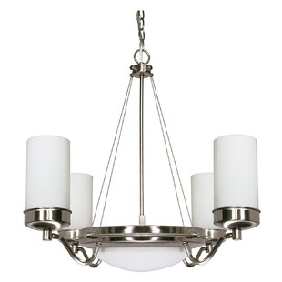 Ebern Designs Nabors 6-Light Shaded Chandelier