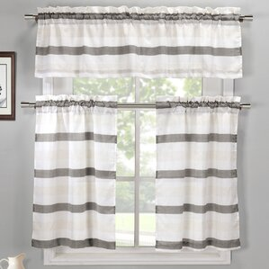 Window Valances, Café U0026 Kitchen Curtains Youu0027ll Love | Wayfair Part 65