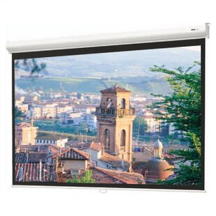 Designer Contour Matte White Manual Projection Screen