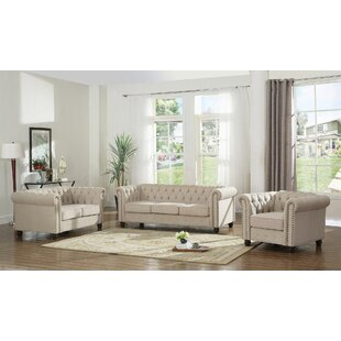 Dineen 3 Piece Living Room Set..