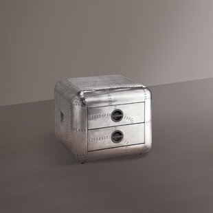Compare Croxton 2 Drawer Nightstand by Orren Ellis