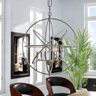 Hamby 6-Light Globe Chandelier