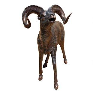 Design Toscano Big Horn Sheep Garden Statue