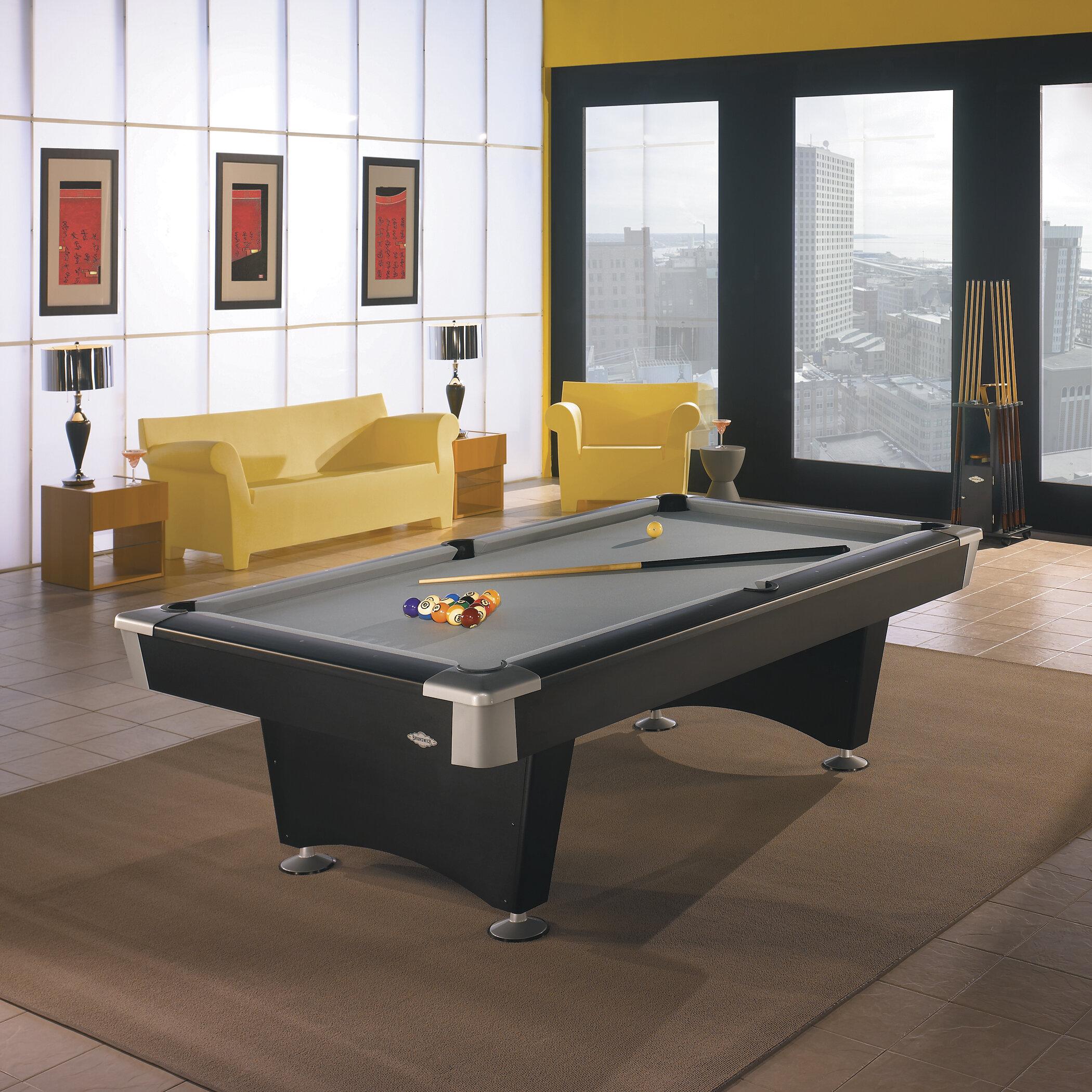 Brunswick Billiards Boca Billiards Pool Table Reviews Wayfair - 84 pool table