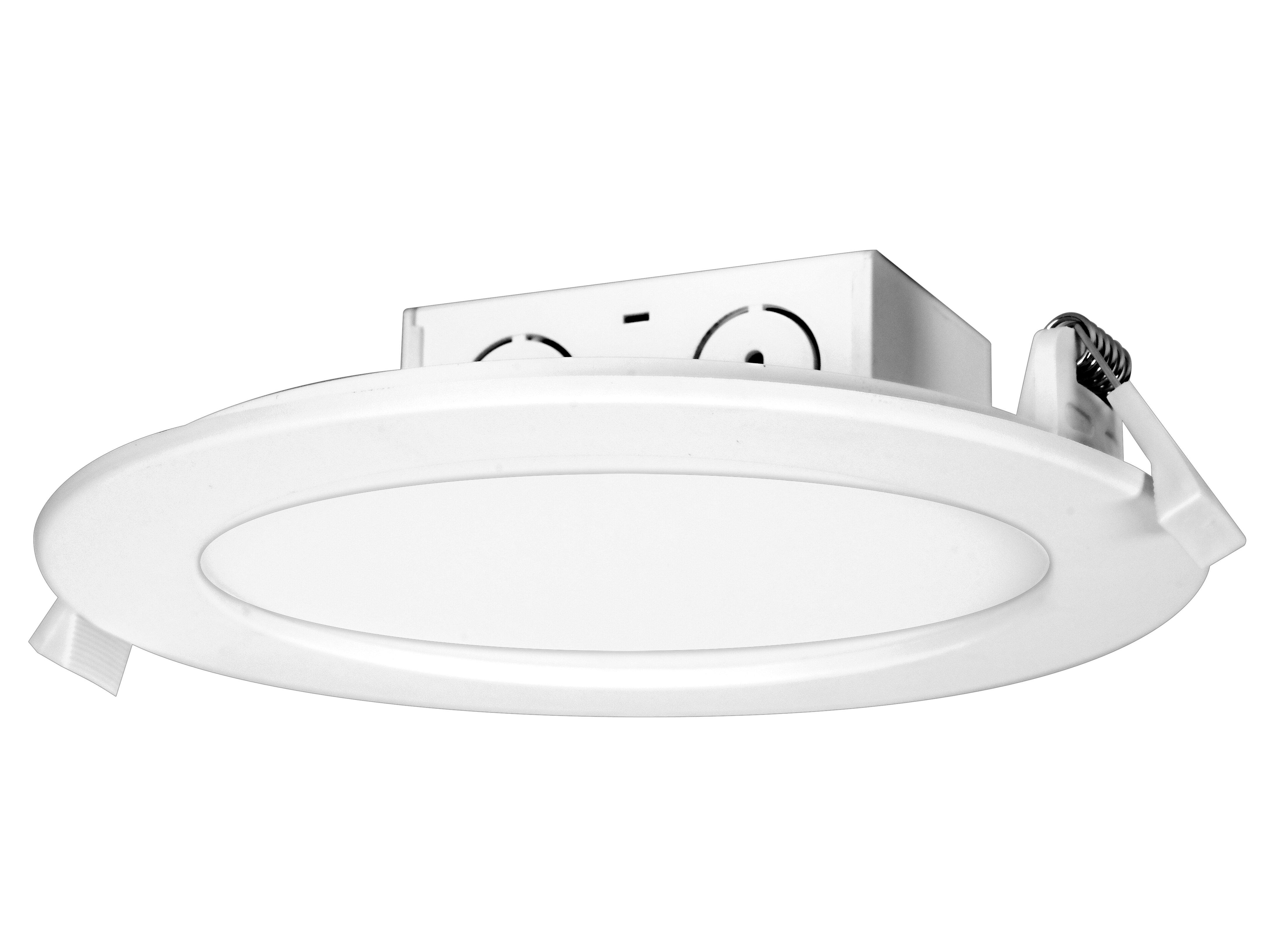 Satco 6 44 Remodel Led Retrofit Recessed Lighting Kit Wayfair