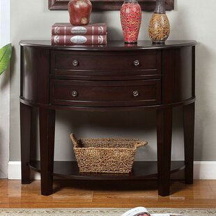 Corso Transitional Console Table by Charlton Home
